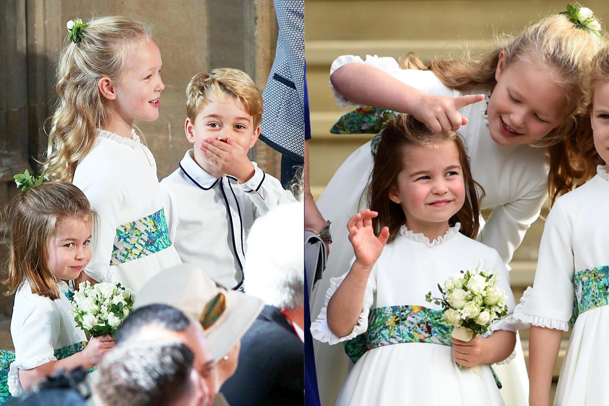 Savannah Phillips Princess Charlotte Prince George