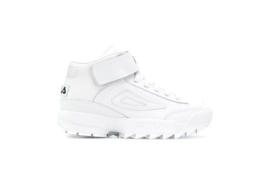 Fila D2 Disruptor Hi-Top Sneakers