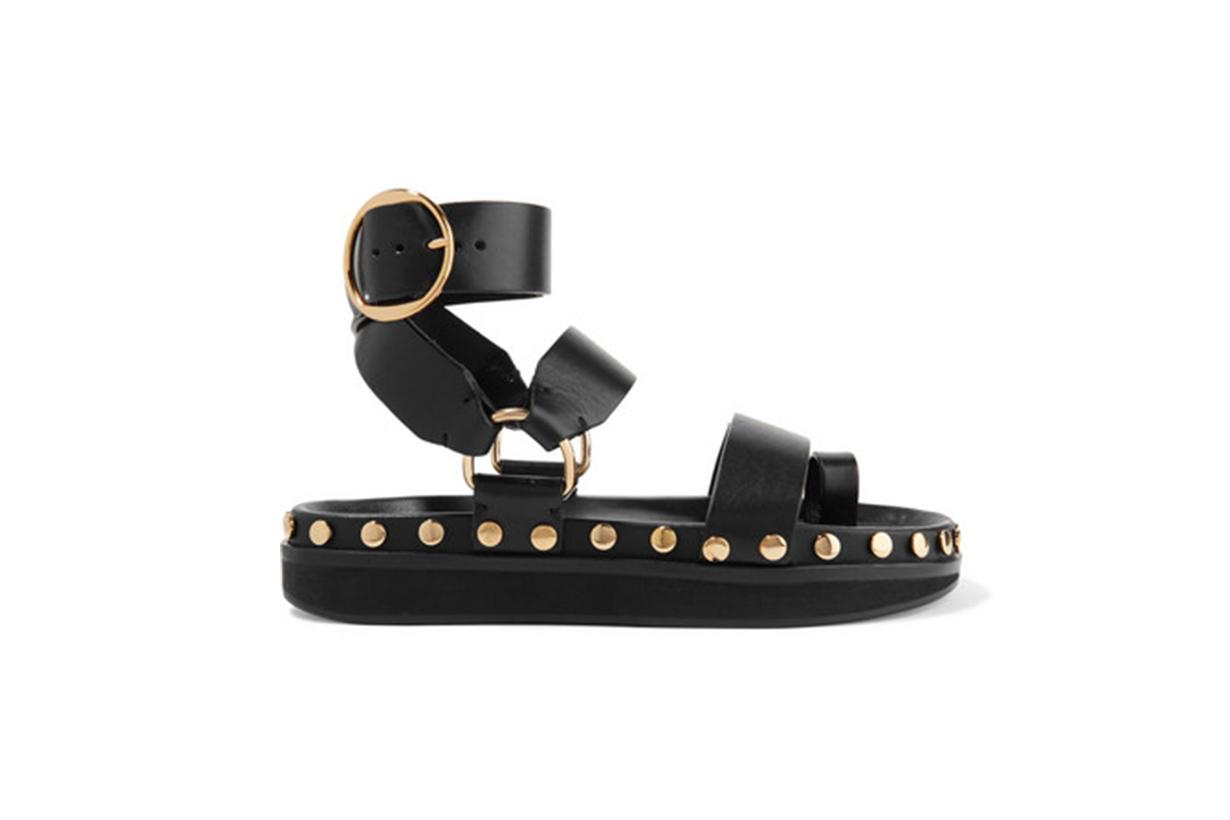 Isabel Marant Nirvy Studded Leather Sandals