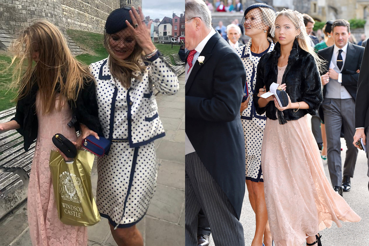 Kate Moss and Her Lookalike Daughter Were Unexpected Guests at Princess Eugenie's Royal Wedding