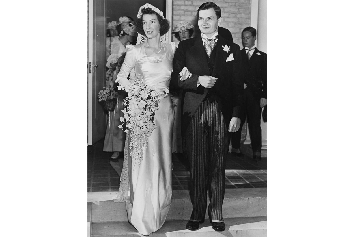 Margaret McGrath's Wedding Dress