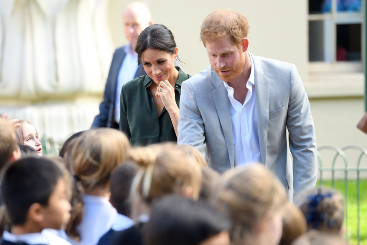Meghan Markle and Prince Harry visited Sussex