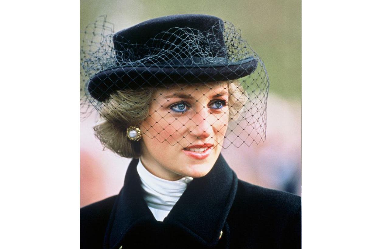 Princess Diana Veiled Hat