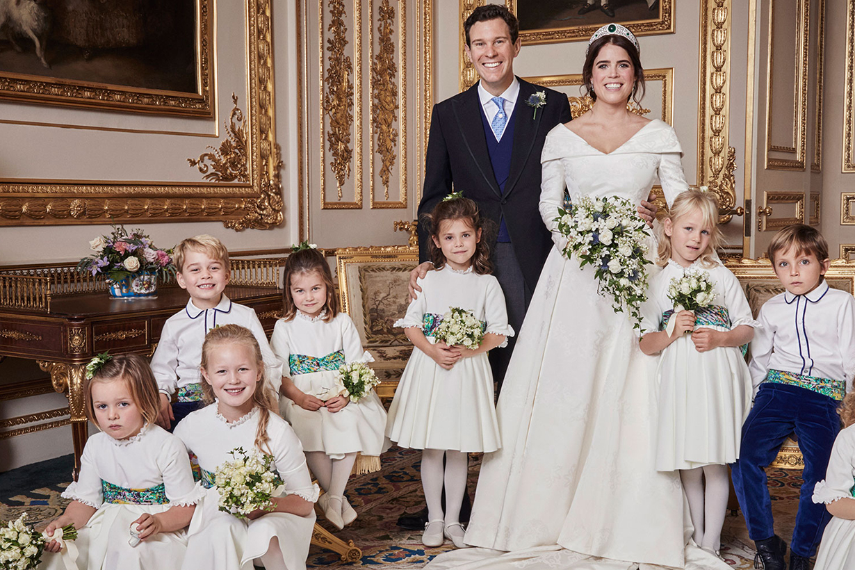 Princess Eugenie's Wedding Princess Charlotte