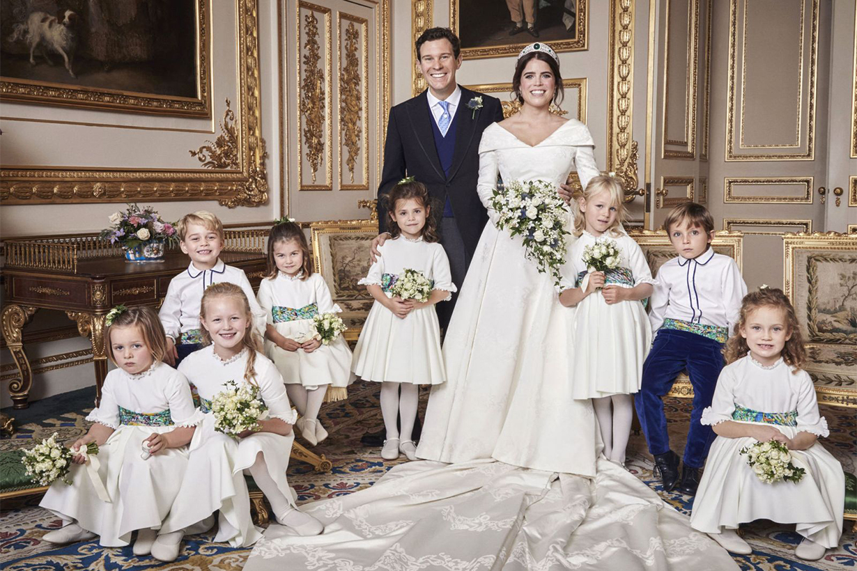 Princess Eugenie wedding official royal wedding portrait