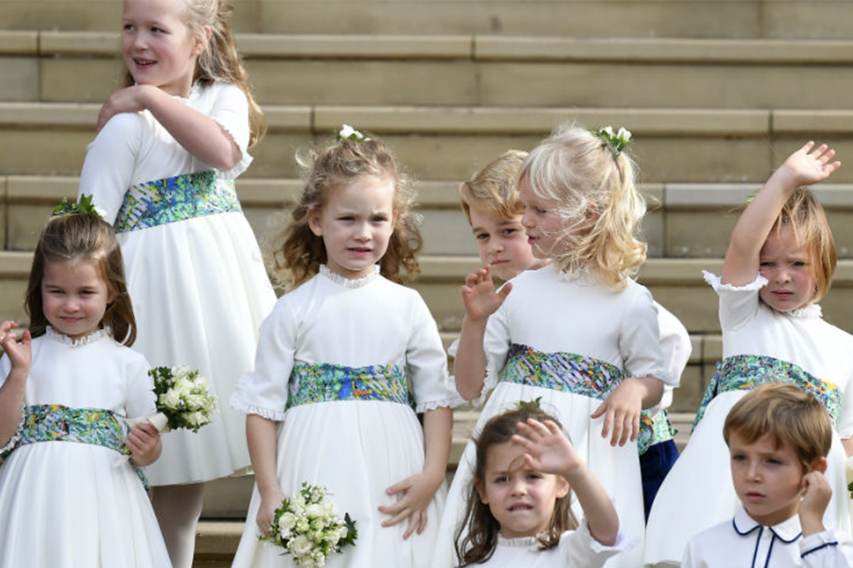 Princess Eugenie's Wedding Bridesmaids