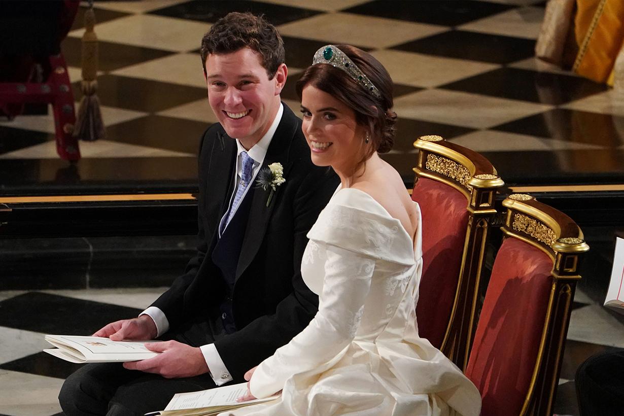 Princess Eugenie's Wedding Without Veil