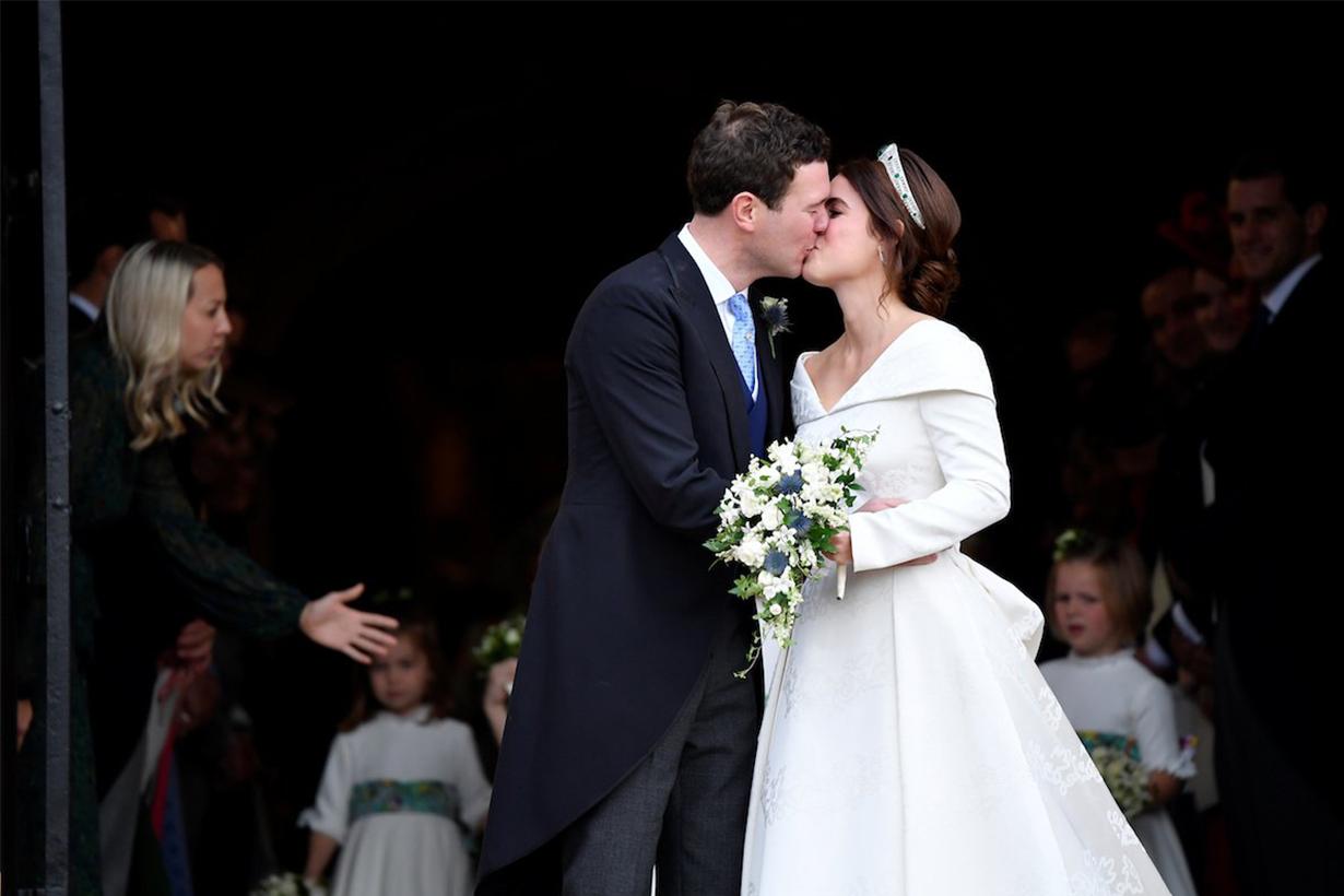 Princess Eugenie's Wedding Kiss
