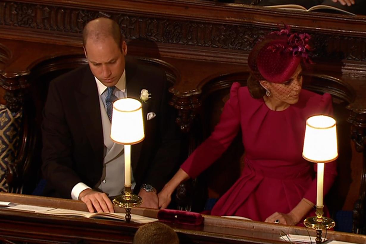 Princess Eugenie's Wedding Kate Middleton and Prince William