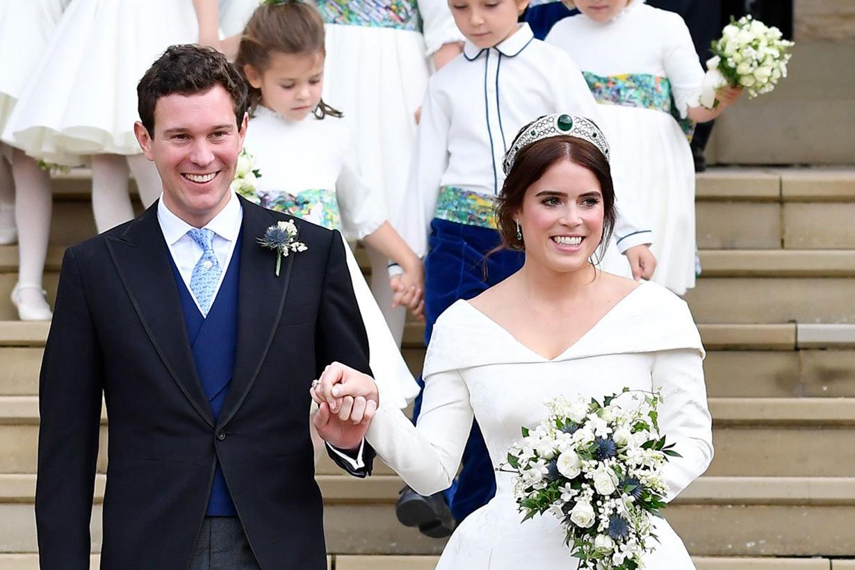 Princess Eugenie's Wedding Bouquet