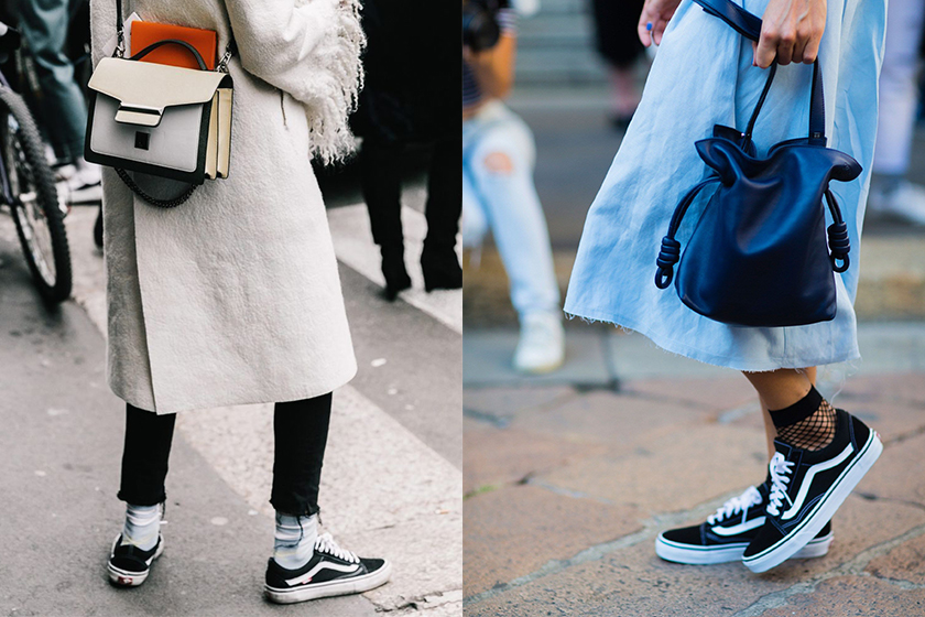 van sneakers street style