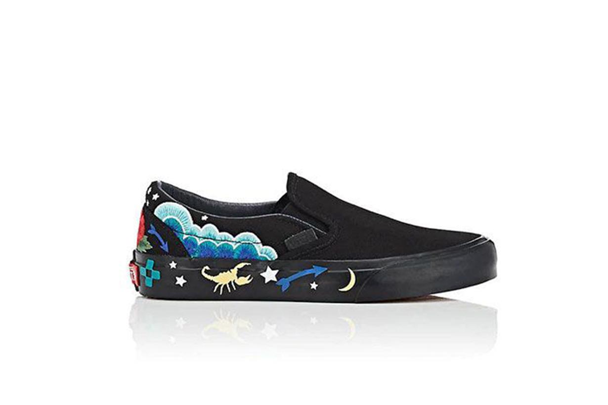 Vans Classic Slip-On Desert Embellish Sneakers