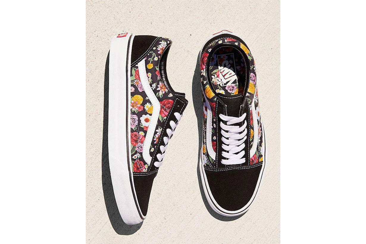 Vans Old Skool Lux Floral Sneakers