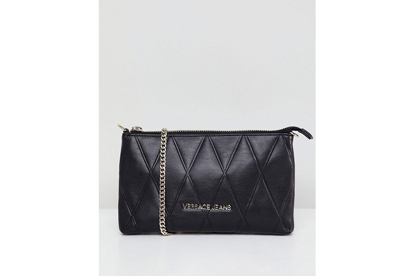Versace Jeans Quilted Crossbody Bag
