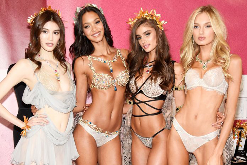 Victoria's Secret Angel Models at Backstage