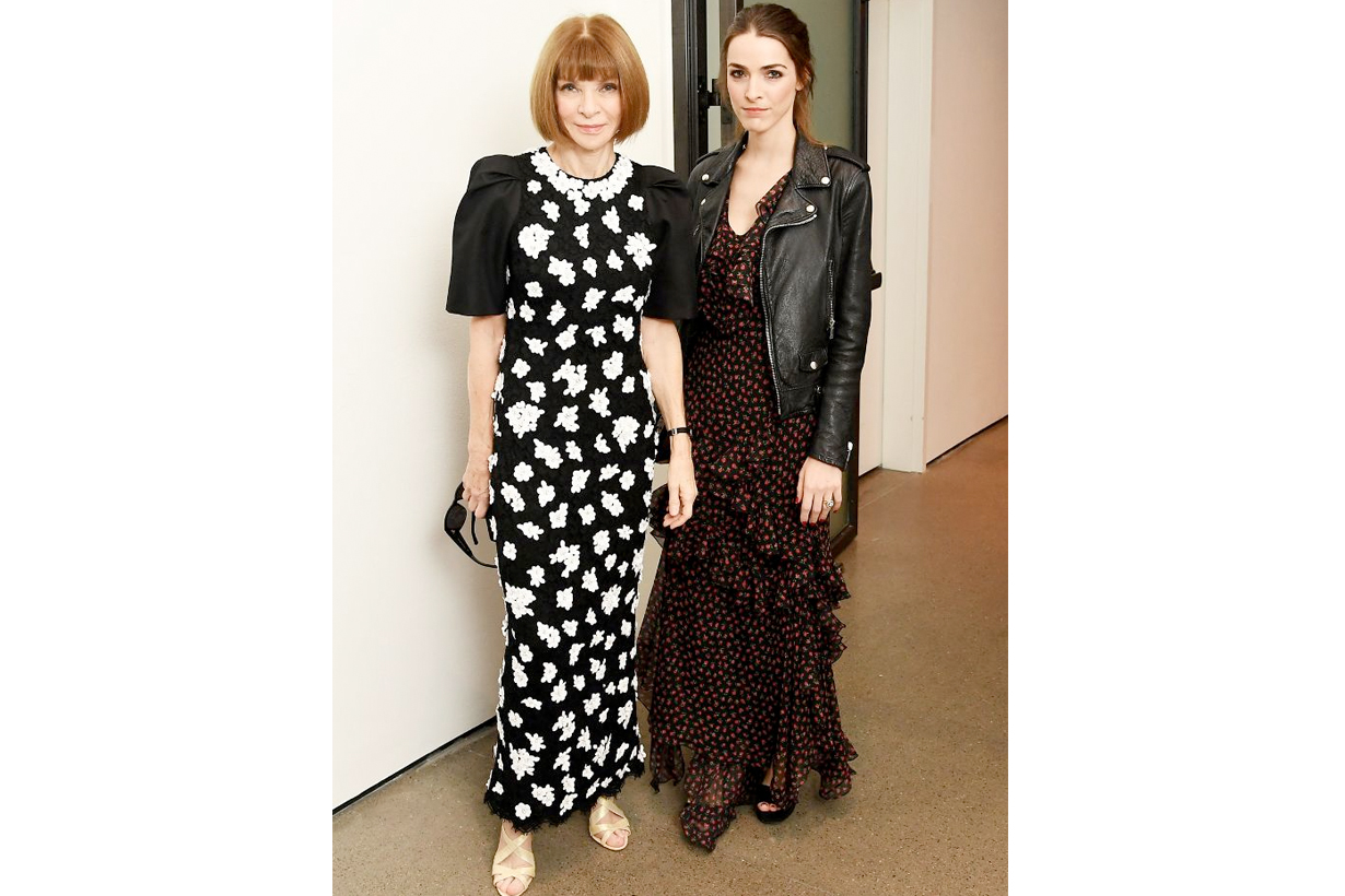 anna wintour bee carrozzini golden heart awards mother daughter duo outfit