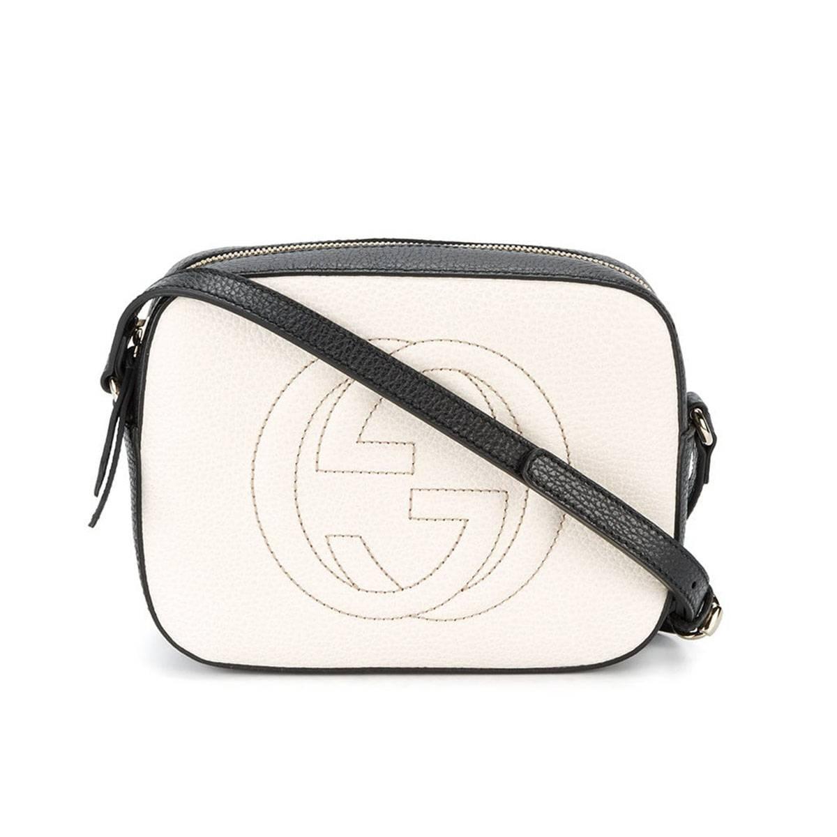 Gucci Soho Disco Textured-Leather Shoulder Bag