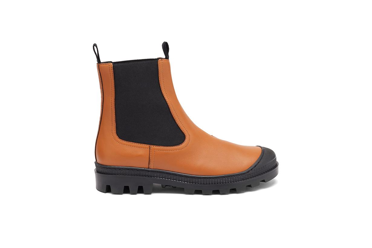 LOEWE Toe-cap leather Chelsea boots