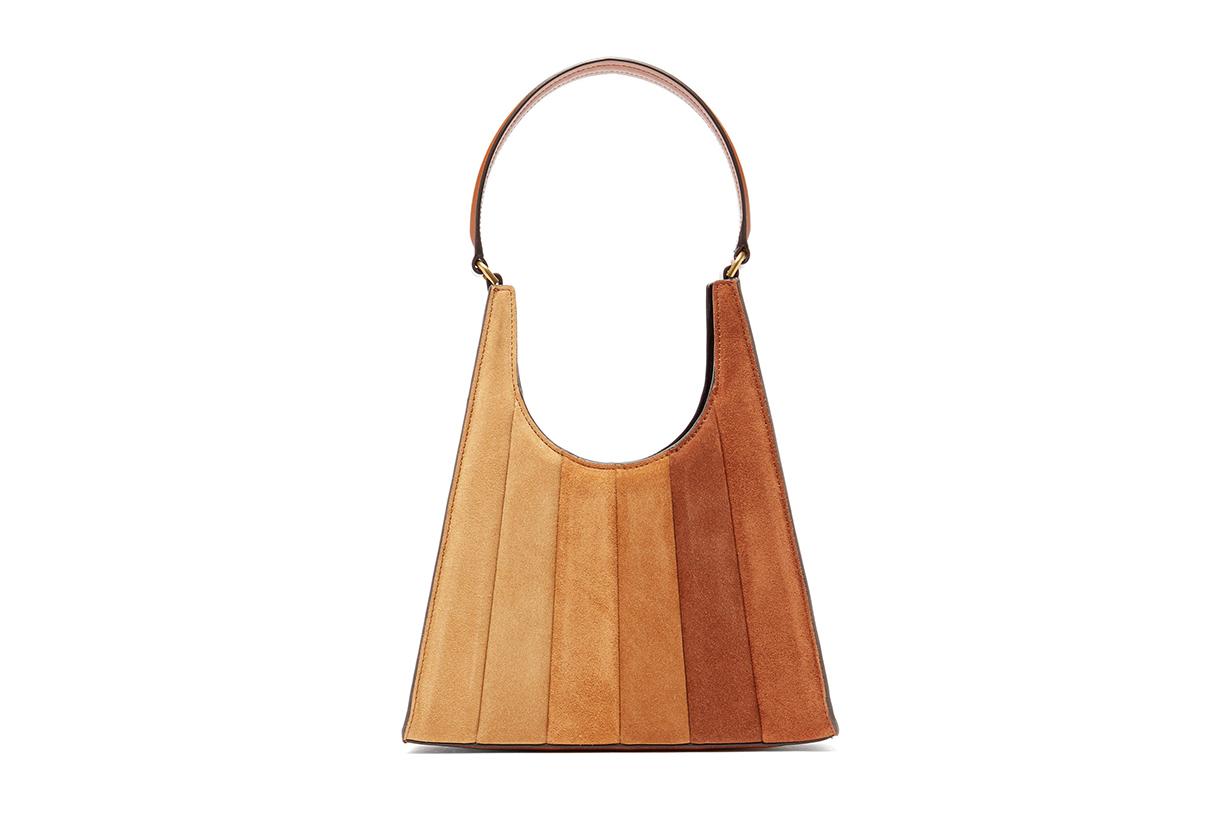 Rey gradient quilted-suede handbag