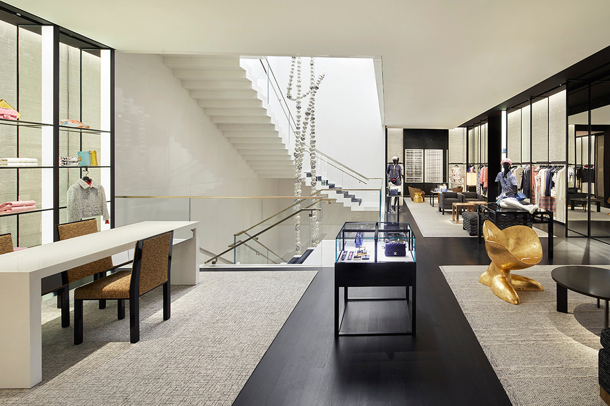 Chanel's The 57th Street Flagship reopen in New York City