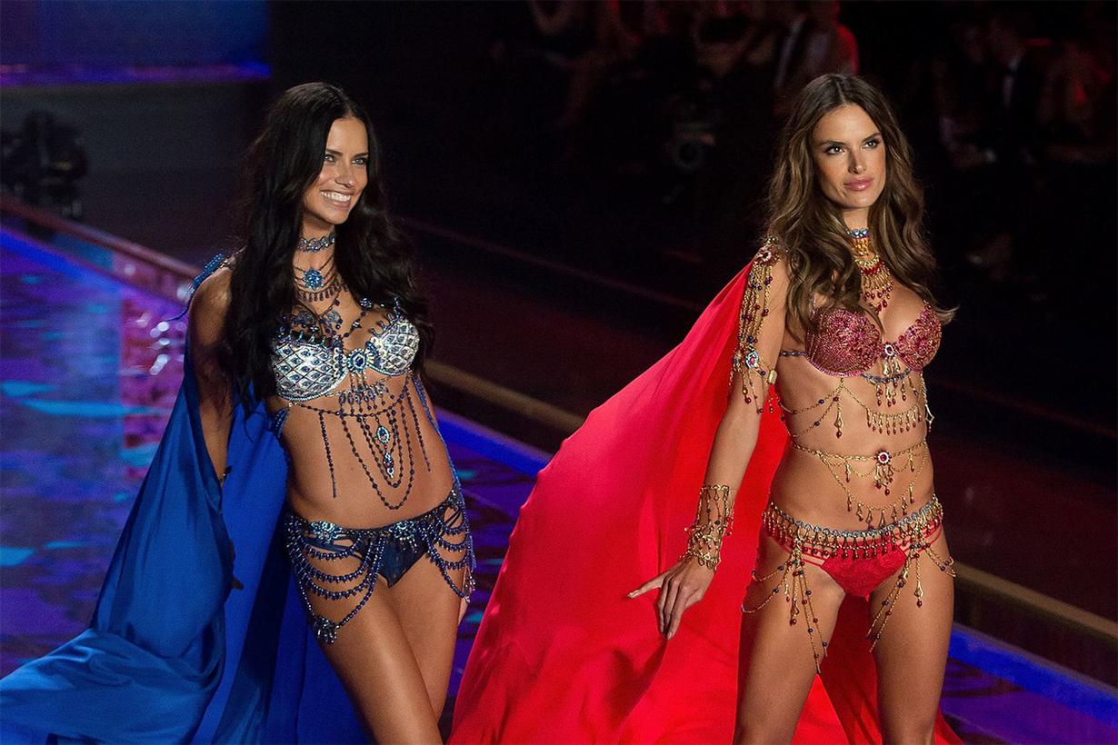 Alessandra Ambrósio Adriana Lima 2014 Victoria's Secret