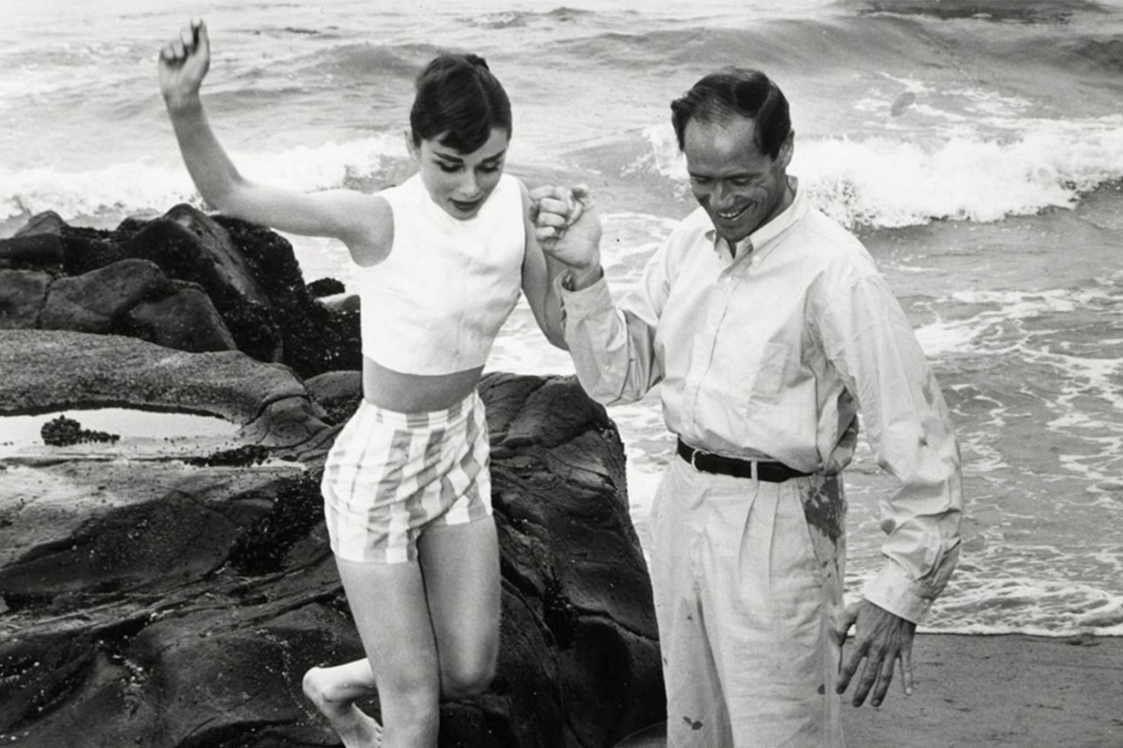 Audrey Hepburn Afraid of Water