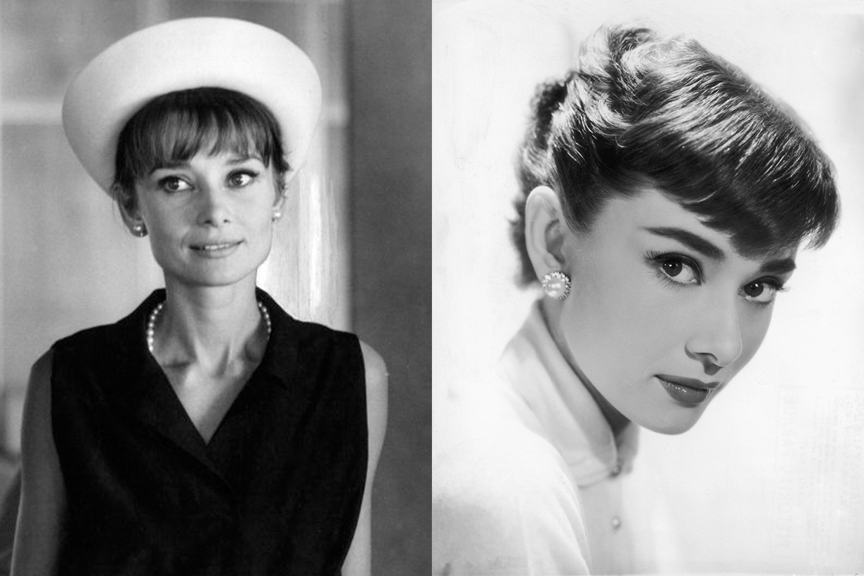 Audrey Hepburn Secrets Pearl Earrings Necklace