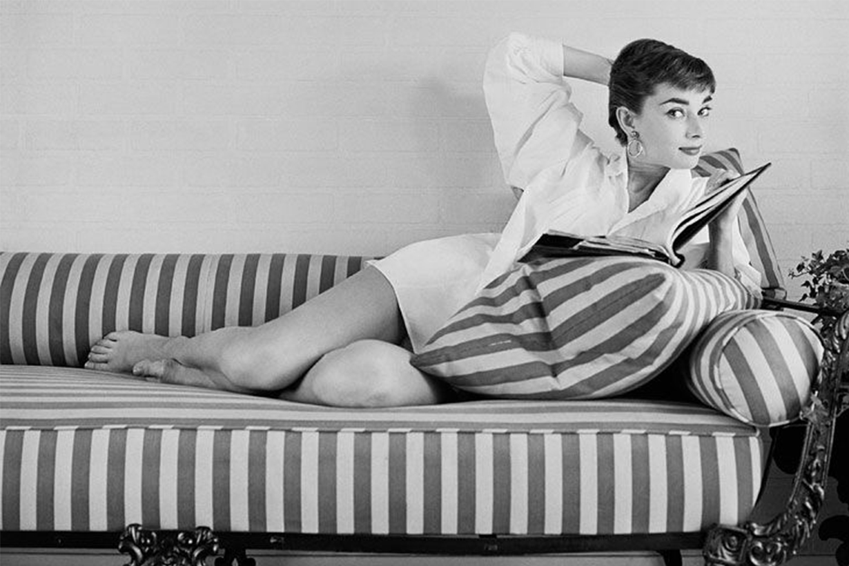 Audrey Hepburn Big Feet
