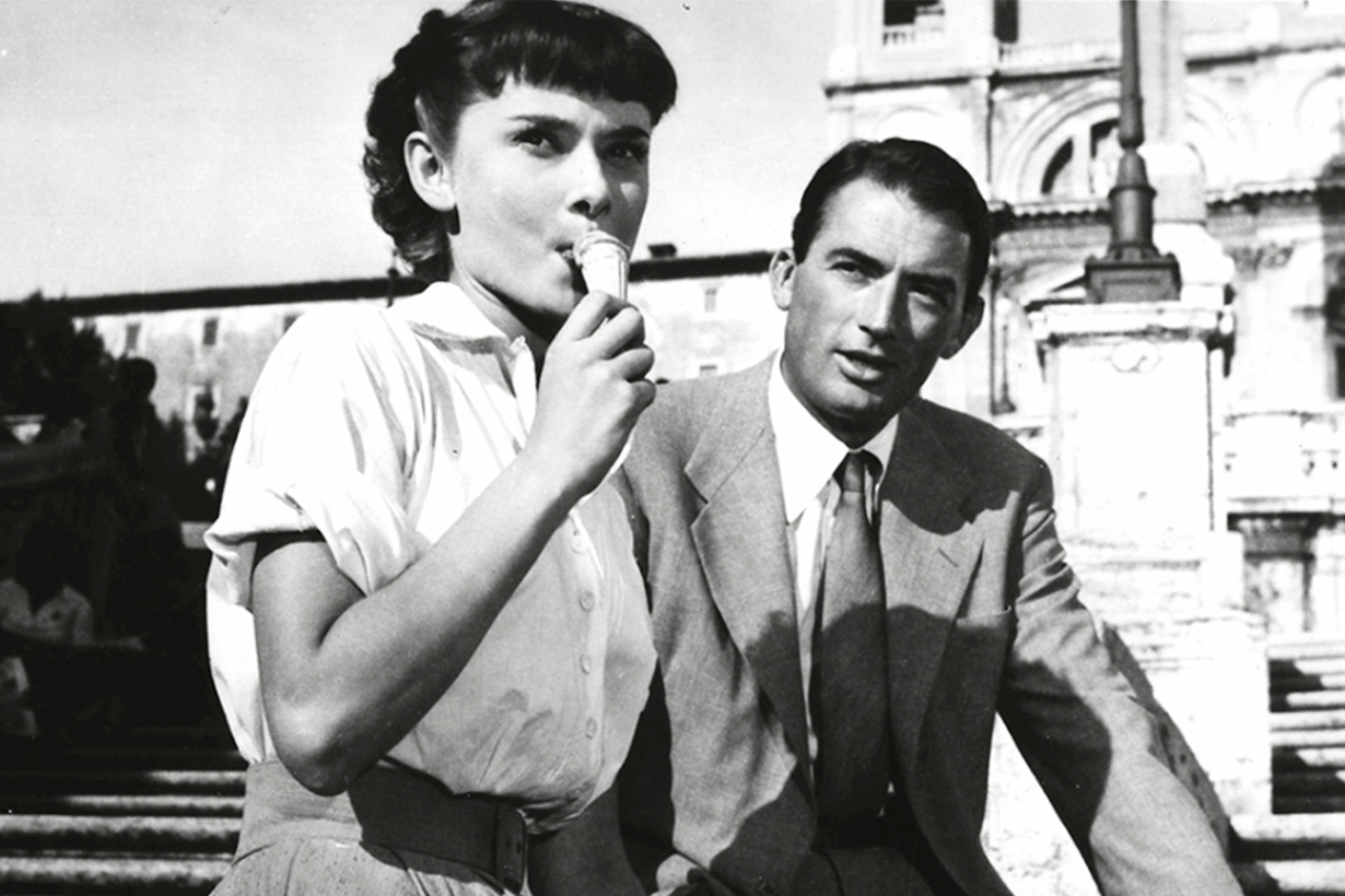 Audrey Hepburn Roman Holiday Ice Cream