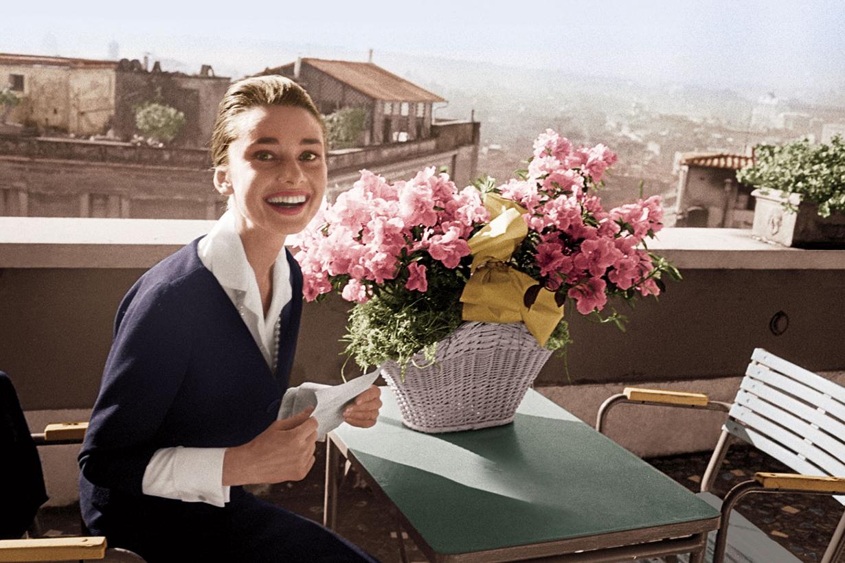 Audrey Hepburn Perfume Flowers
