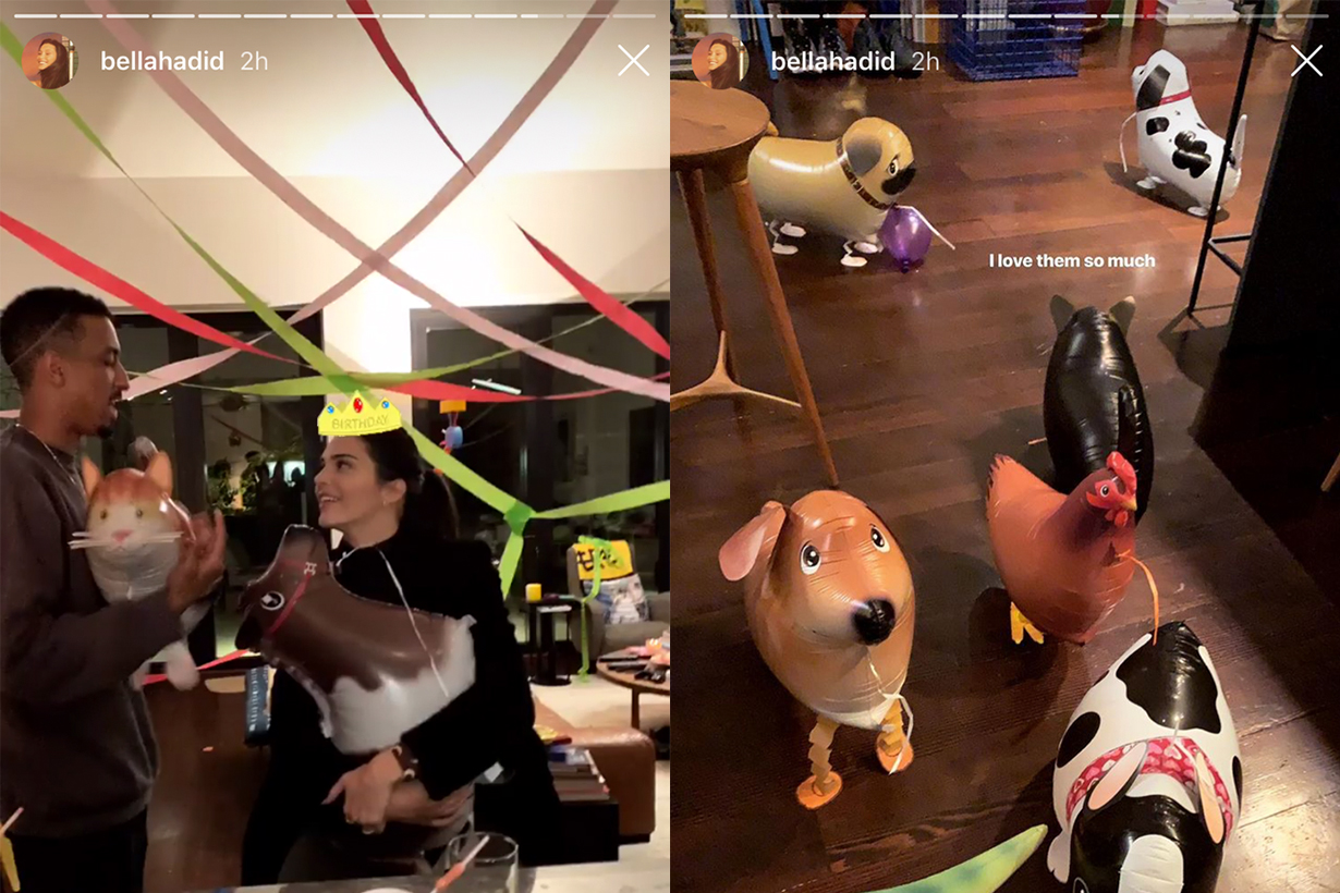 Kendall Jenner Birthday Party Bella Hadid Ig Story