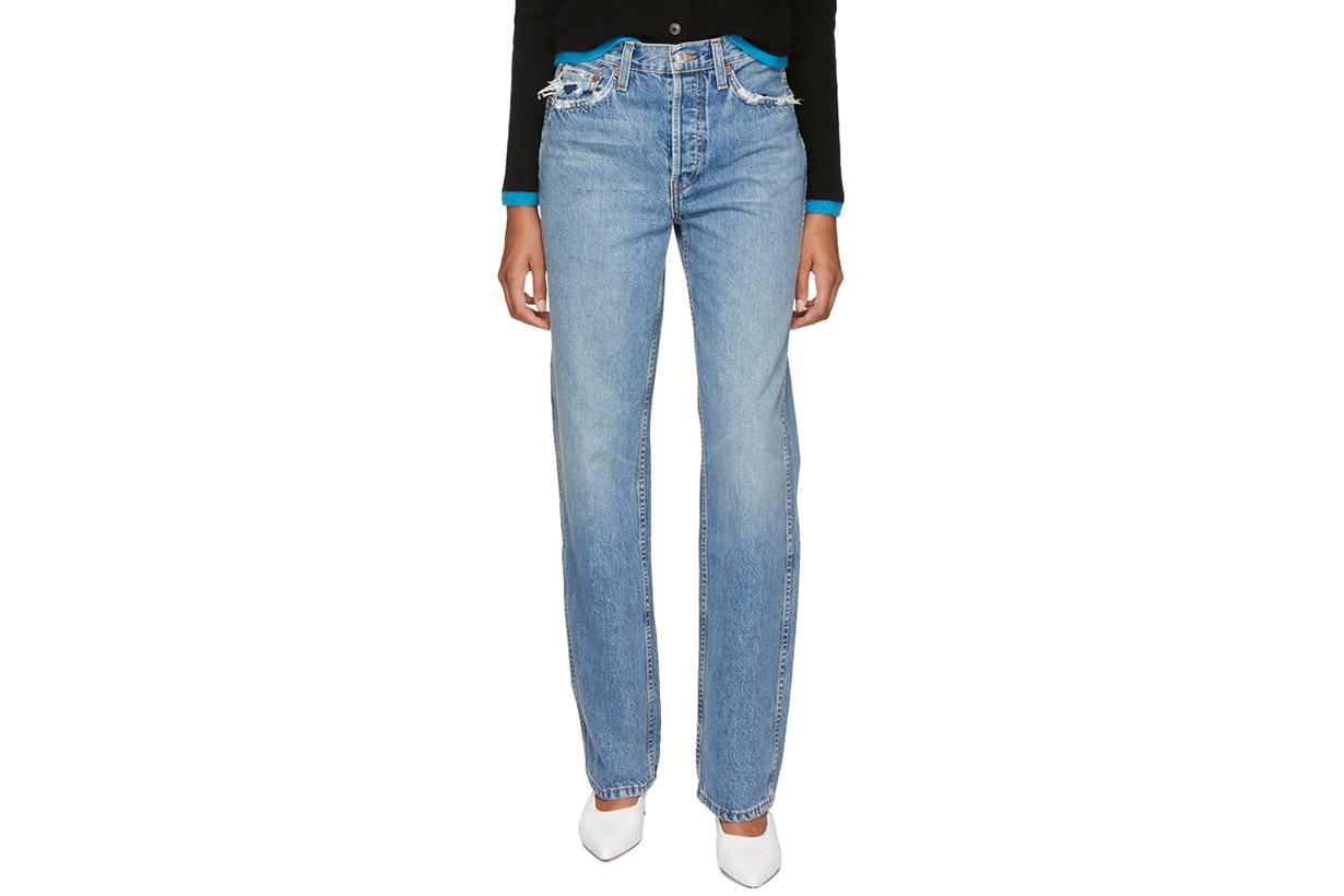 Re/Done Originals Blue Originals Loose Jeans