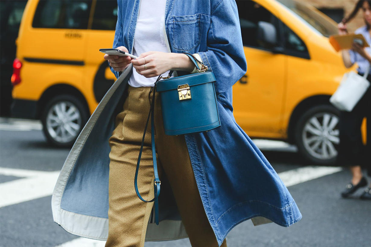 Structured Bag Street Style