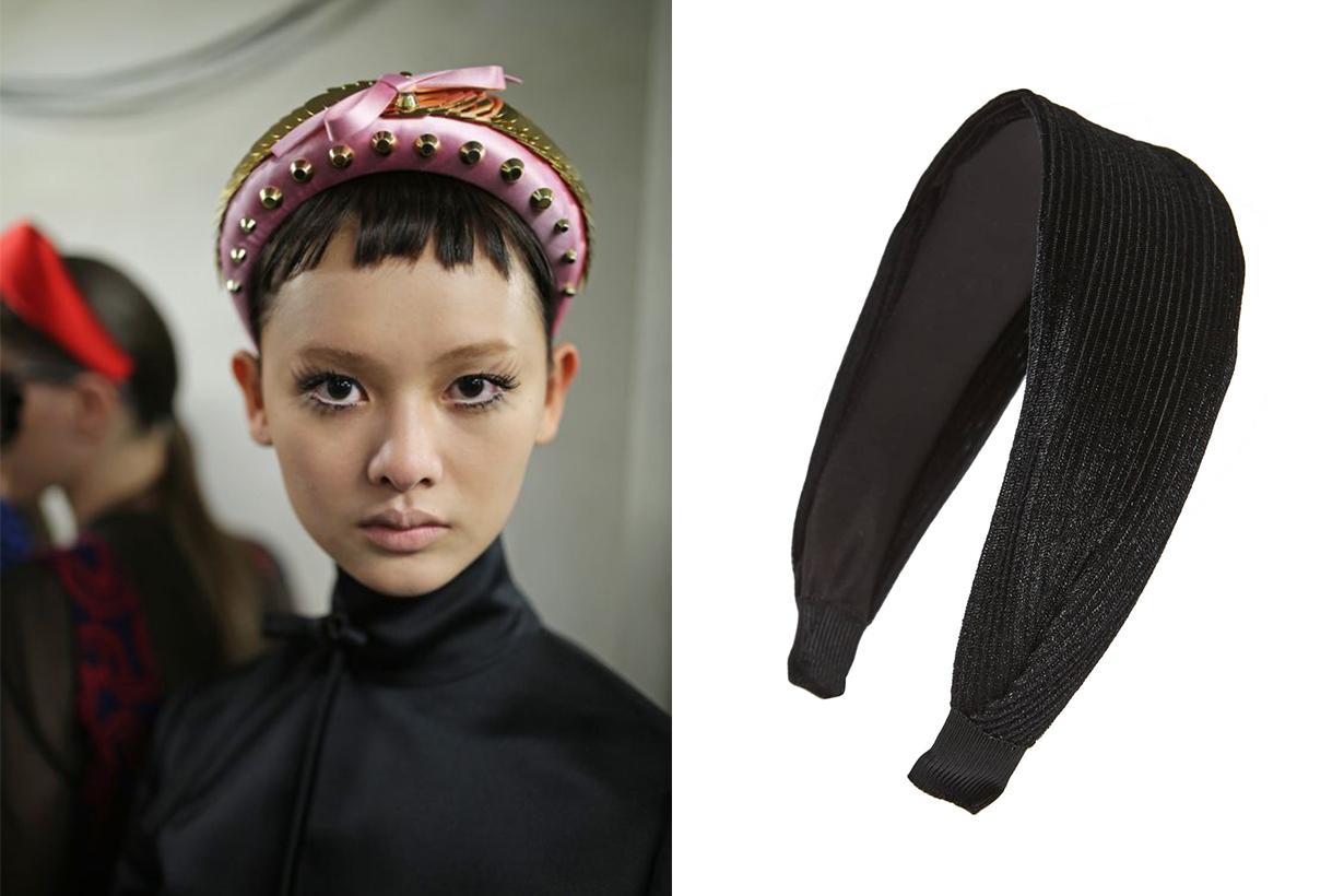 Cara Pleated Headband Prada SS 2019 Trend