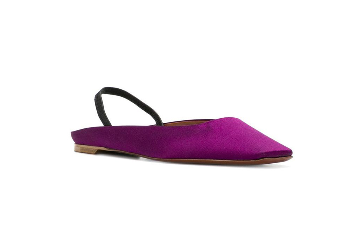 David Beauciel Square Toe Slippers