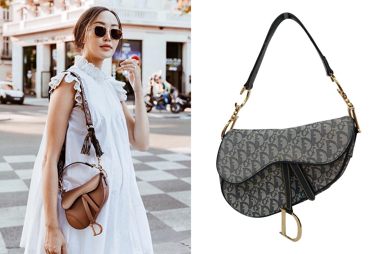 Dior Saddle Bag Street Style It Bag