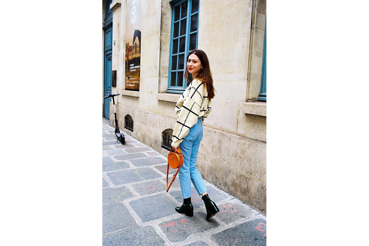 Parisian Work Outfit Style