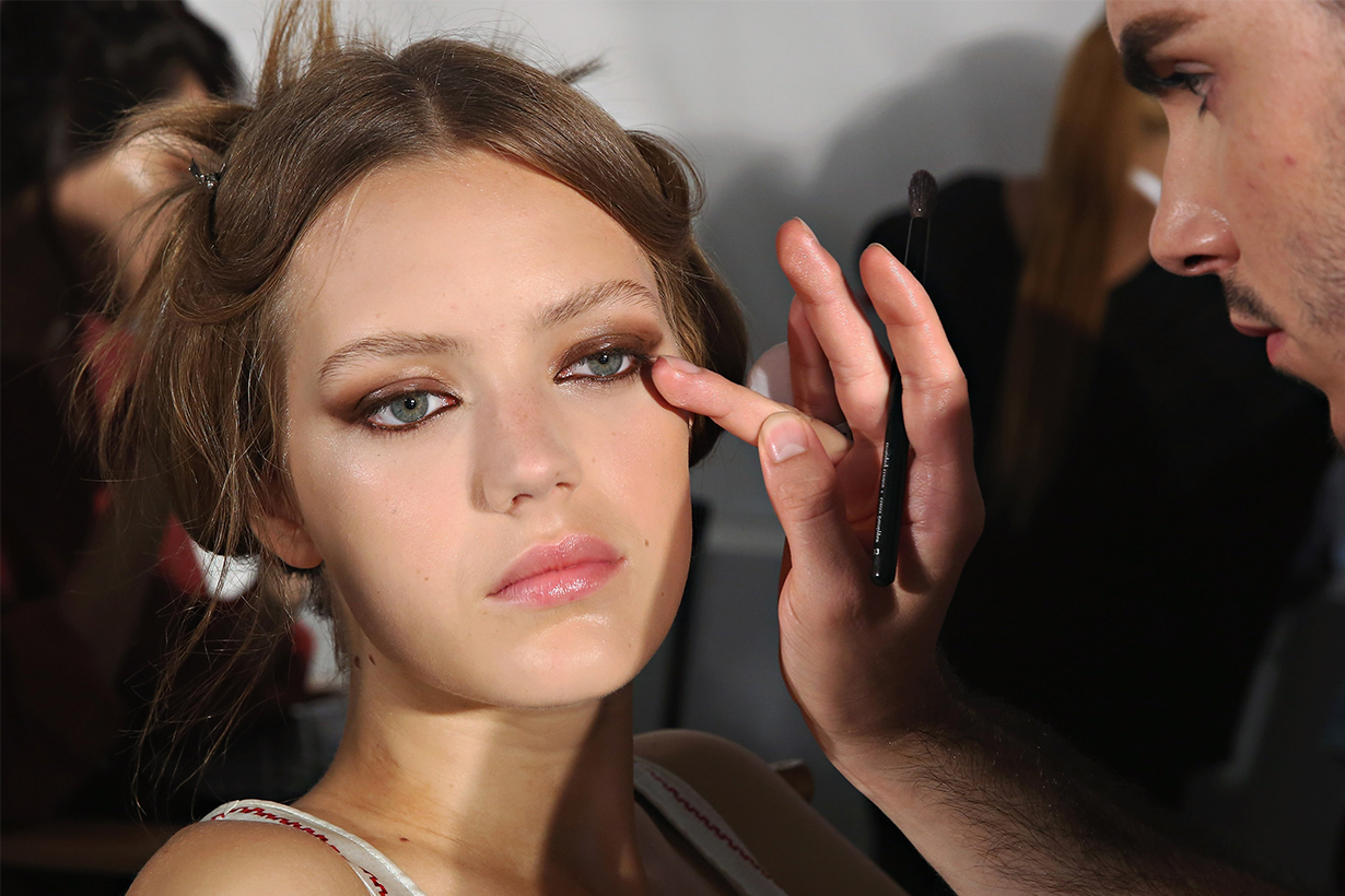 Makeup Eyeliner Backstage Model