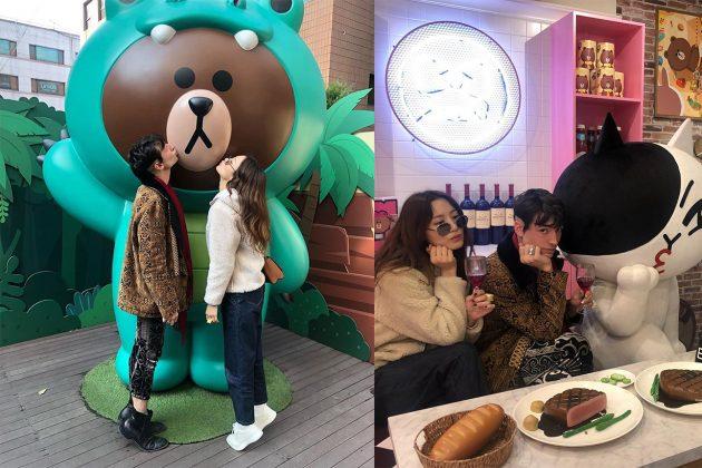 Ezra Miller Claudiash kim friendship 2018