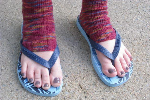 Flip Flop Socks for winter 2018