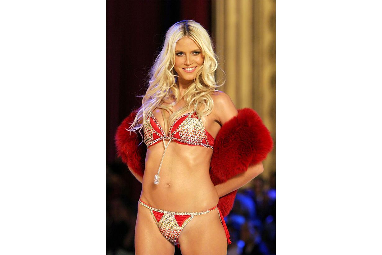"""Heidi Klum in the """"Very Sexy Fantasy Bra Victoria's Secret Model"""