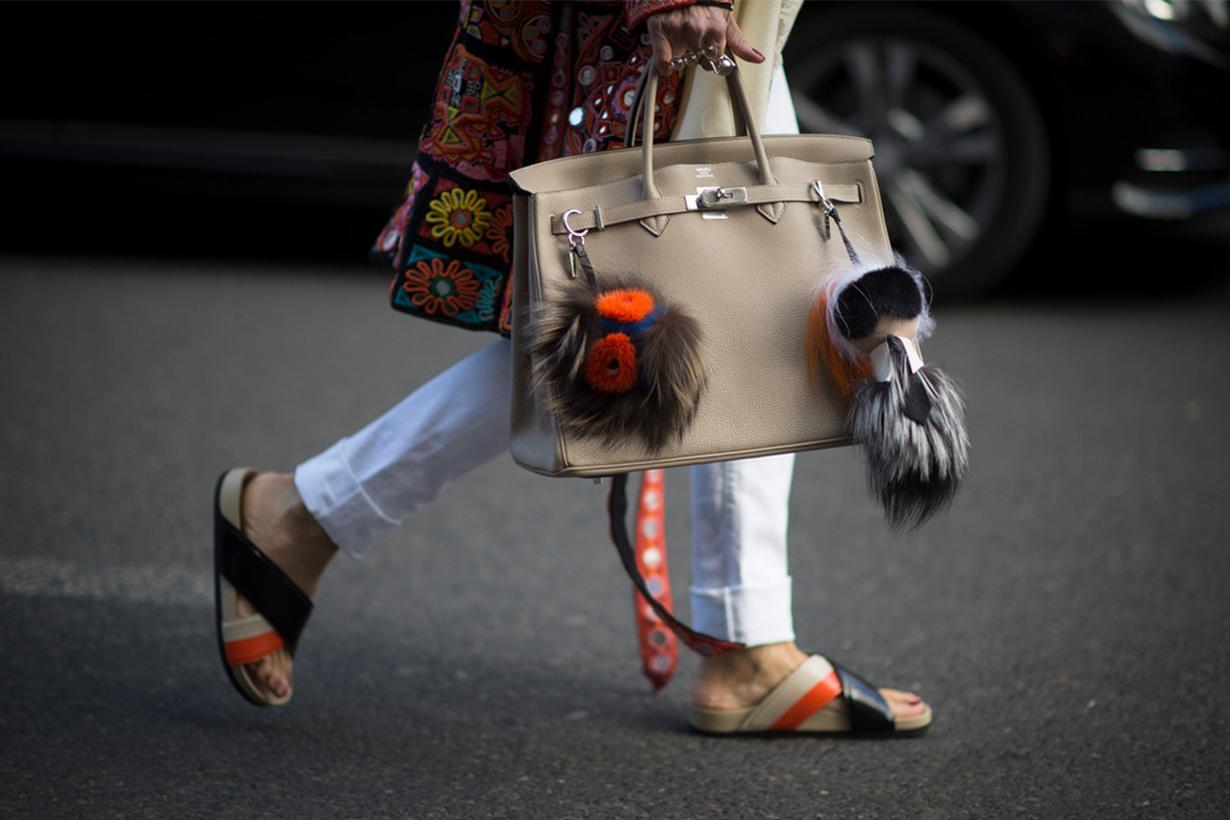 Hermès Birkin Bag Street Style