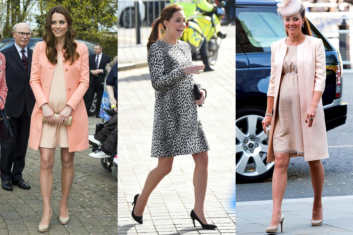 Kate Middleton's Maternity Style Short Dress