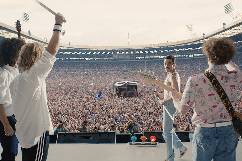 Lady gaga name band Queen movie Bohemian Rhapsody