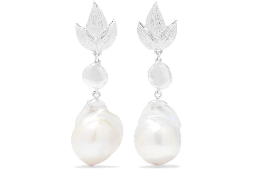 Meadowlark-silver-pearl-earrings