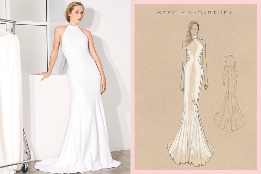 Meghan Markle Wedding Dress stella-mccartney