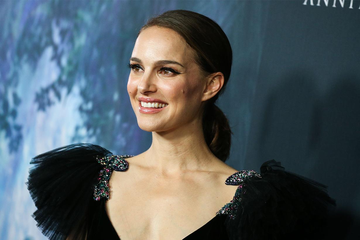 "Natalie Portman as Glittery Pop Diva in ""Vox Lux"""