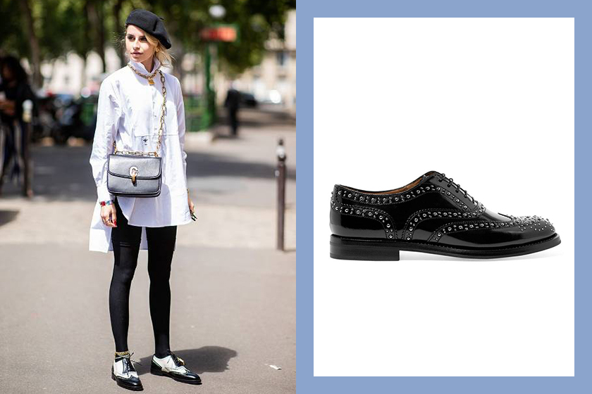 oxford shoes street style