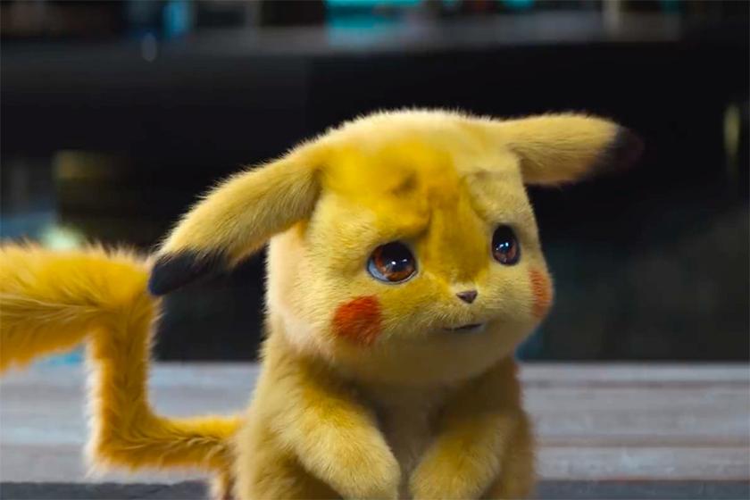 Pokémon Detective Pikachu Trailer Ryan Reynolds Justice Smith