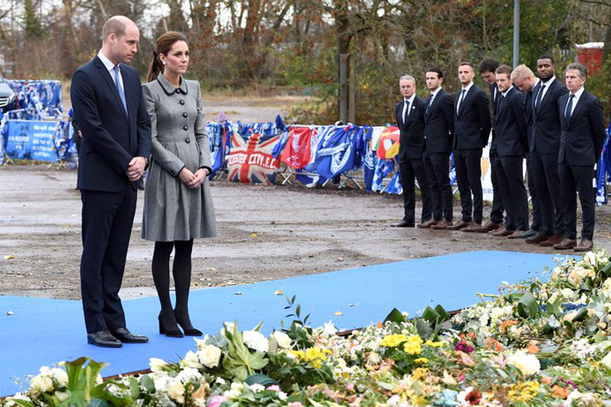 Prince William Kate Middleton Visited Leicester